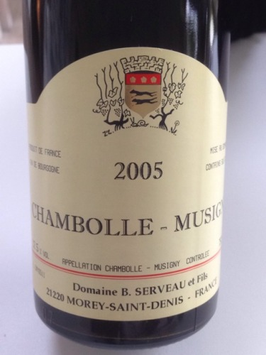 Les Sentiers Chambolle-Musigny 1er Cru