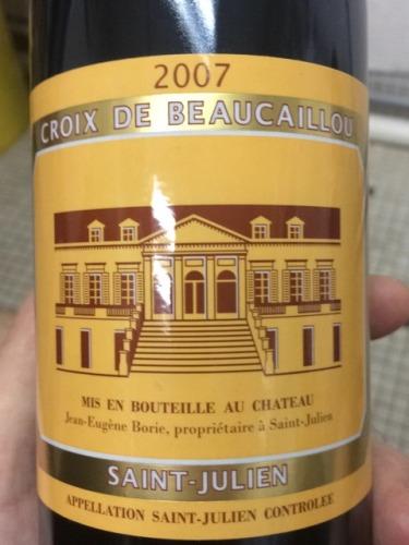宝嘉龙酒庄副牌干红Croix de Beaucaillou