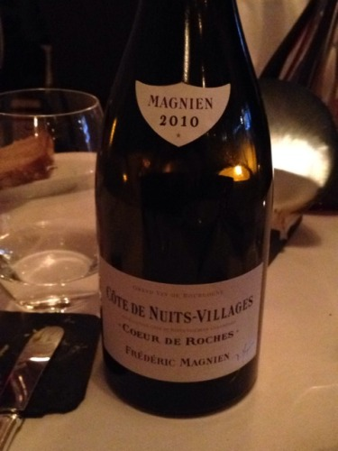 Cote De Nuits Villages Coeur De Roches Pinot Noir