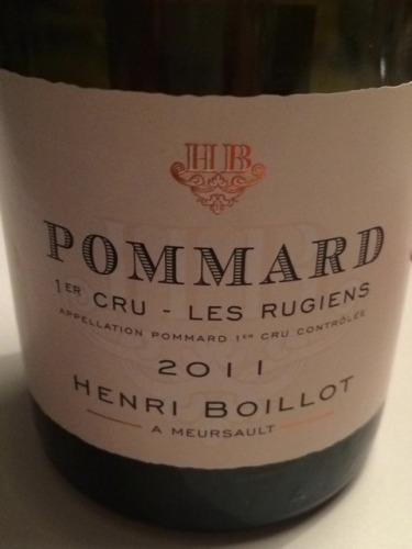 Domaine Henri Boillot Les Rugiens Pommard Premier Cru