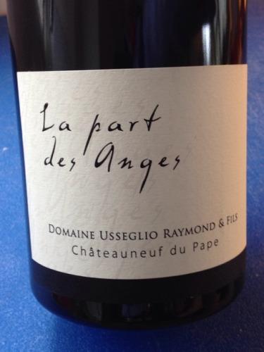 La Part Des Anges Châteauneuf-du-Pape