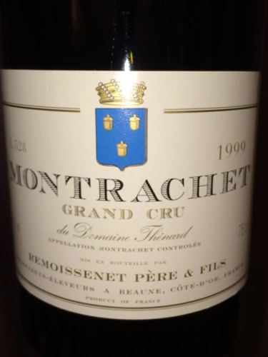 Montrachet Grand Cru du Domaine Thinard