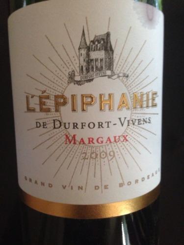 度韦酒庄伊梵尼干红Chateau Durfort Vivens L'Epiphanie Margaux