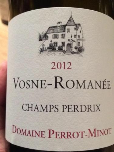 Vosne Romanée Champs Perdrix Vieilles Vigne
