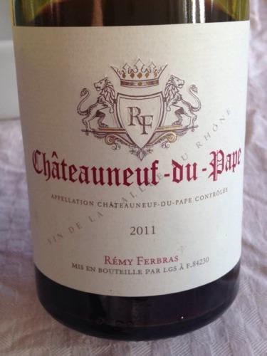 福布斯庄园教皇新堡干红Remy Ferbras Chateauneuf Du Pape