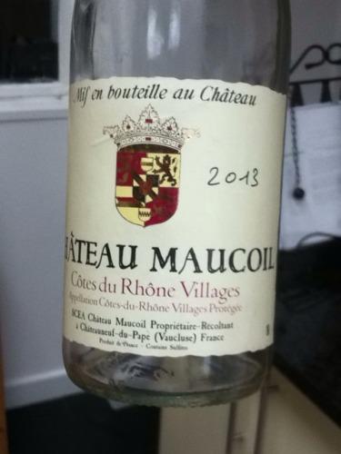 玛珂城堡隆河丘村干红Chateau Maucoil Cotes du Rhone Villages