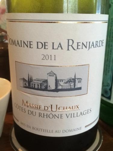 拉杭嘉德隆河丘村产区干红Domaine de La Renjarde Massif D Uchaux