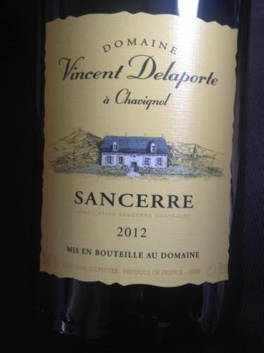 德拉特酒庄桑塞尔干白Domaine Vincent Delaporte a Chavignol Sancerre