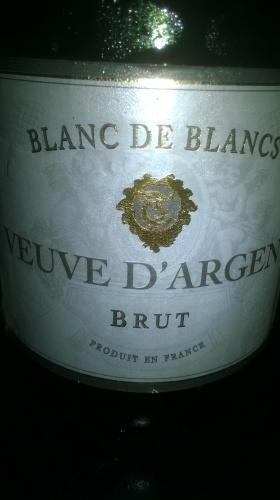 Veuve D'Argent Brut Blanc de Blancs