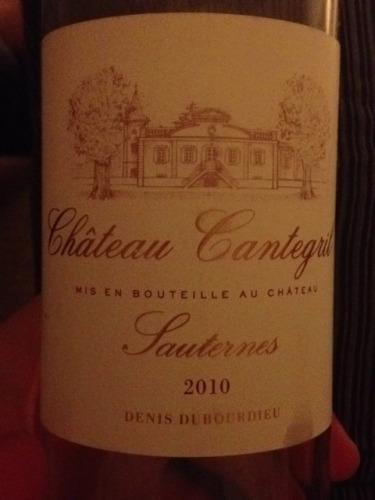 坎特格里贵腐甜白Chateau Cantegril