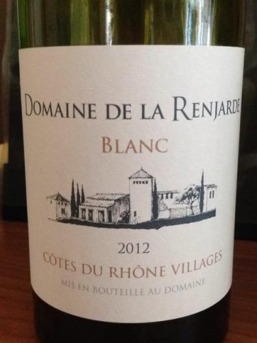 Côtes Du Rhône Villages Blanc