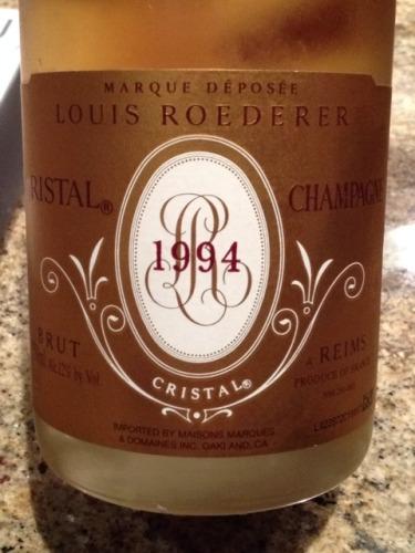 Marque Déposée Cristal Champagne Remis Brut