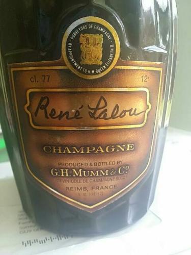 Champagne René Lalou
