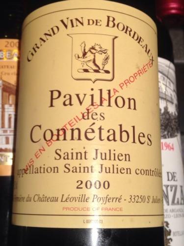 波菲庄园三牌酒Pavillon des Connetables