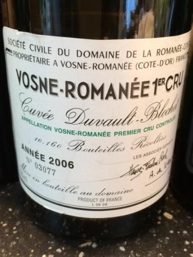 罗曼尼·康帝杜沃-布洛歇干红Domaine de la Romanee-Conti Cuvee Duvault Blochet