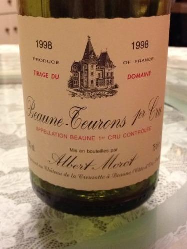 蒙露酒庄博纳特伦园红葡萄酒Albert Morot Blles Beaune 1er Cru Les Teurons