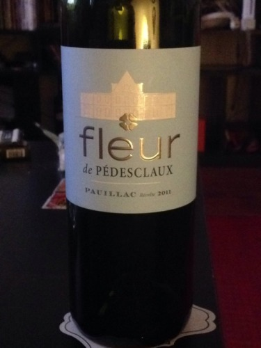 百德诗歌副牌干红Chateau Pedesclaux Fleur de Pedesclaux