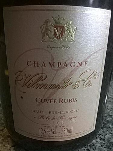 威尔马特露比桃红干型香槟Vilmart Cuvee Rubis Brut Rose