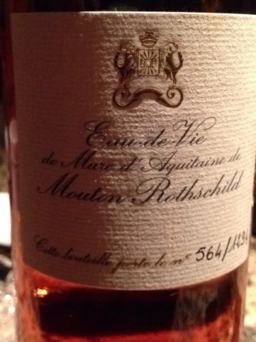 木桐酒庄白兰地Eau de Vie de Marc d'Aquitaine de Mouton Rothschild