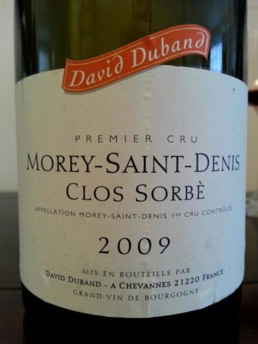 Clos Sorbè Morey-Saint-Denis Premier Cru