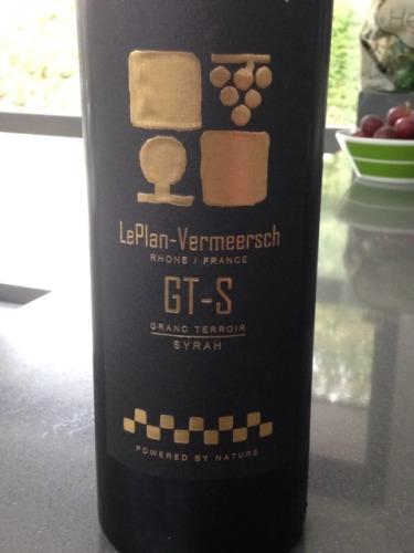 LePlan-Vermeersch Gt-S Grand Terroir Rhone Syrah
