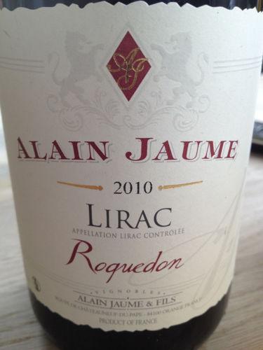 阿兰豪李哈克红葡萄酒Alain Jaume & Fils Roquedon Lirac