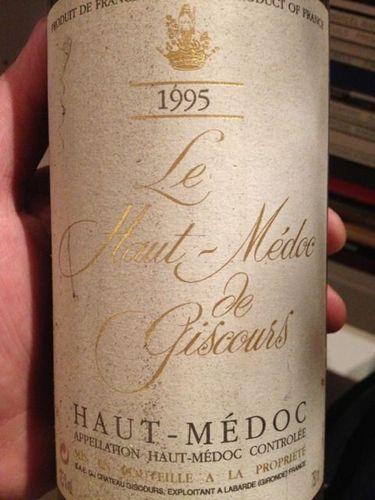 上梅多克美人鱼庄园干红Le Haut-Medoc de Giscours