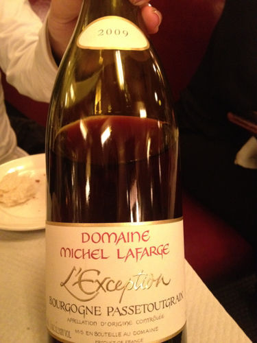 L'Exception Bourgogne Passetoutgrains