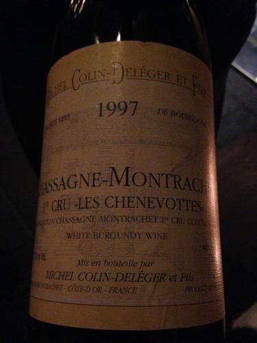 Les Chenevottes Chassagne-Montrachet 1er Cru