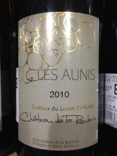 瑚乐酒庄莱斯欧尼斯干白Chateau de La Roulerie Les Aunis