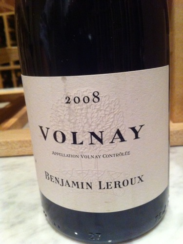 Benjamin Leroux Volnay