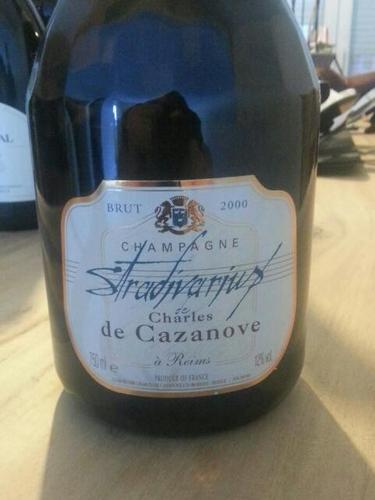 凯萨王斯特拉迪特级香槟Champagne Charles de Cazanove Stradivarius