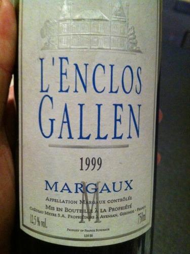 L'enclos Gallen Margaux