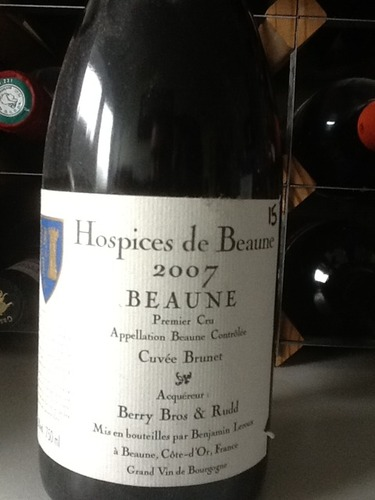 Christian Philipson Hospices de Beane-Greves Premier Cru