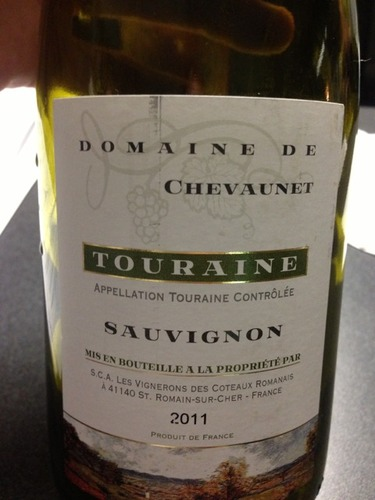 诗凡酒庄长相思干白Domaine de Chevaunet Touraine Sauvignon