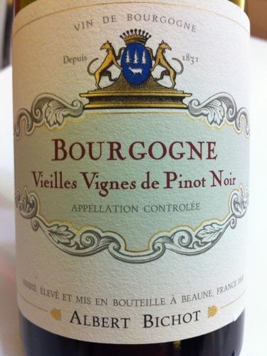 Maison Albert Bichot Bourgogne Vieilles Vigne Pinot Noir