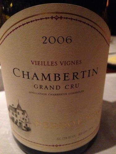 Chambertin Vieilles Vigne
