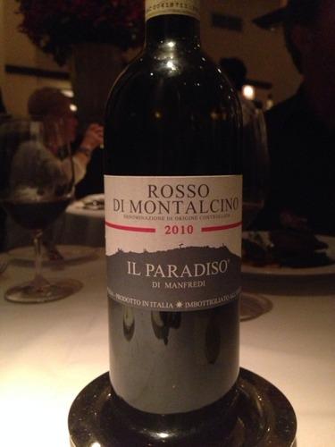 曼法拉第天堂庄园蒙塔尔奇诺红干红Il Paradiso di Manfredi Rosso di Montalcino