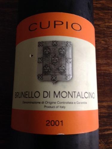 皮尼诺库里欧蒙塔奇诺干红Pinino Cupio Rosso Di Montalcino