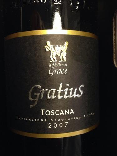 格蕾丝格哈特干红Il Molino Di Grace Gratius Toscana