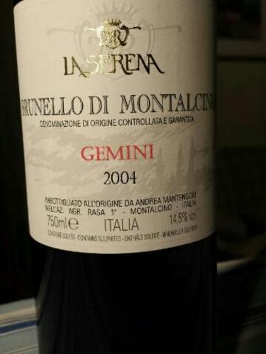 Gemini Brunello di Montalcino