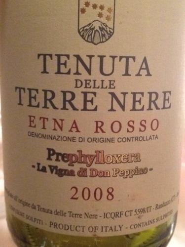 Etna Prephylloxera La Vigna di Don Peppino Rosso