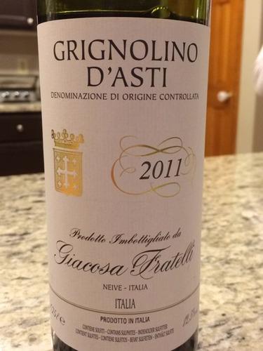 d'Asti Grignolino