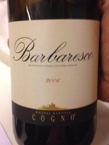 科诺巴巴莱斯科干红Elvio Cogno Barbaresco