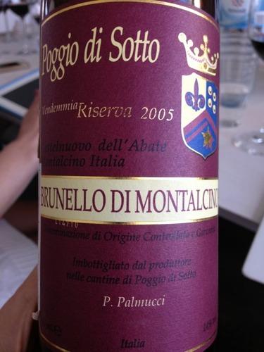 波吉欧狄索托蒙塔尔奇诺-布鲁耐罗珍藏干红Fattoria Poggio di Sotto Brunello di Montalcino Riserva