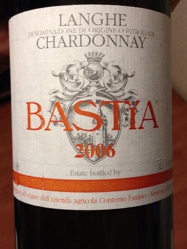 凡第诺巴斯特霞多丽干白Conterno Fantino Bastia Chardonnay
