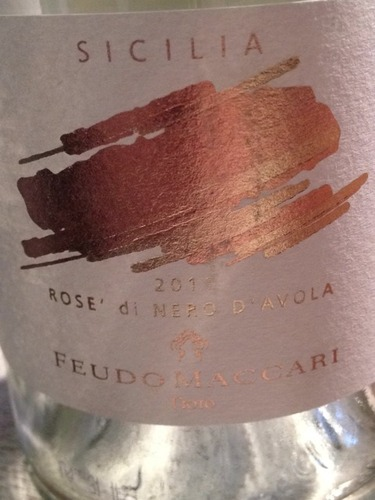 马卡尼黑珍珠桃红Feudo Maccari Rose di Nero d'Avola