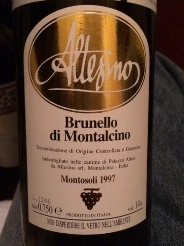 阿尔泰斯诺蒙特索里布鲁奈罗葡萄酒Altesino Brunello di Montalcino Montosoli
