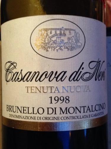 卡萨诺瓦特努达布鲁奈罗红葡萄酒Casanova di Neri Brunello di Montalcino Tenuta Nuova