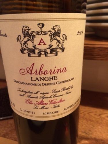 艾里奥阿塔雷酒庄朗阁阿尔布雷纳红葡萄酒Elio Altare Arborina - Giarborina Langhe Rosso